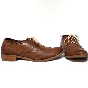 Dirty Laundry Violette Brown Oxfords Shoes 8
